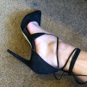 Steve Madden Shoes - Steve Madden tie strap stilettos